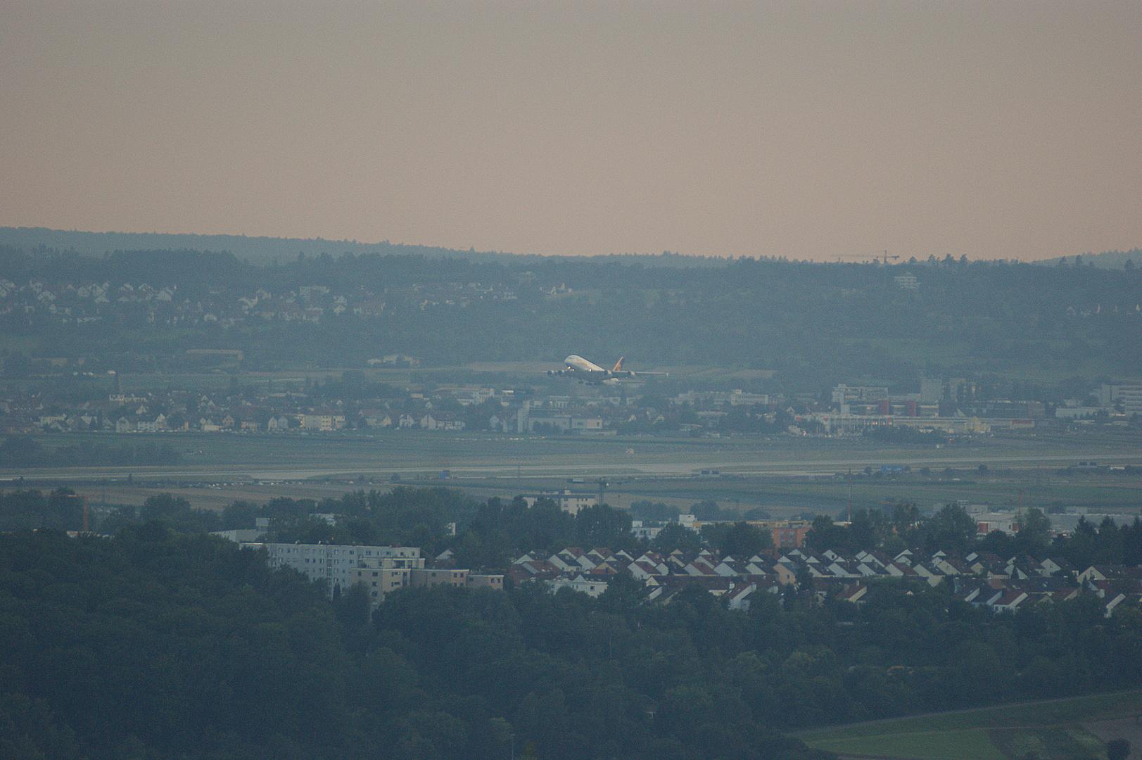 A-380 Flughafen Stuttgart