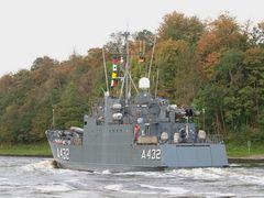 A 432 TASUJA auf dem Nord-Ostsee-Kanal.