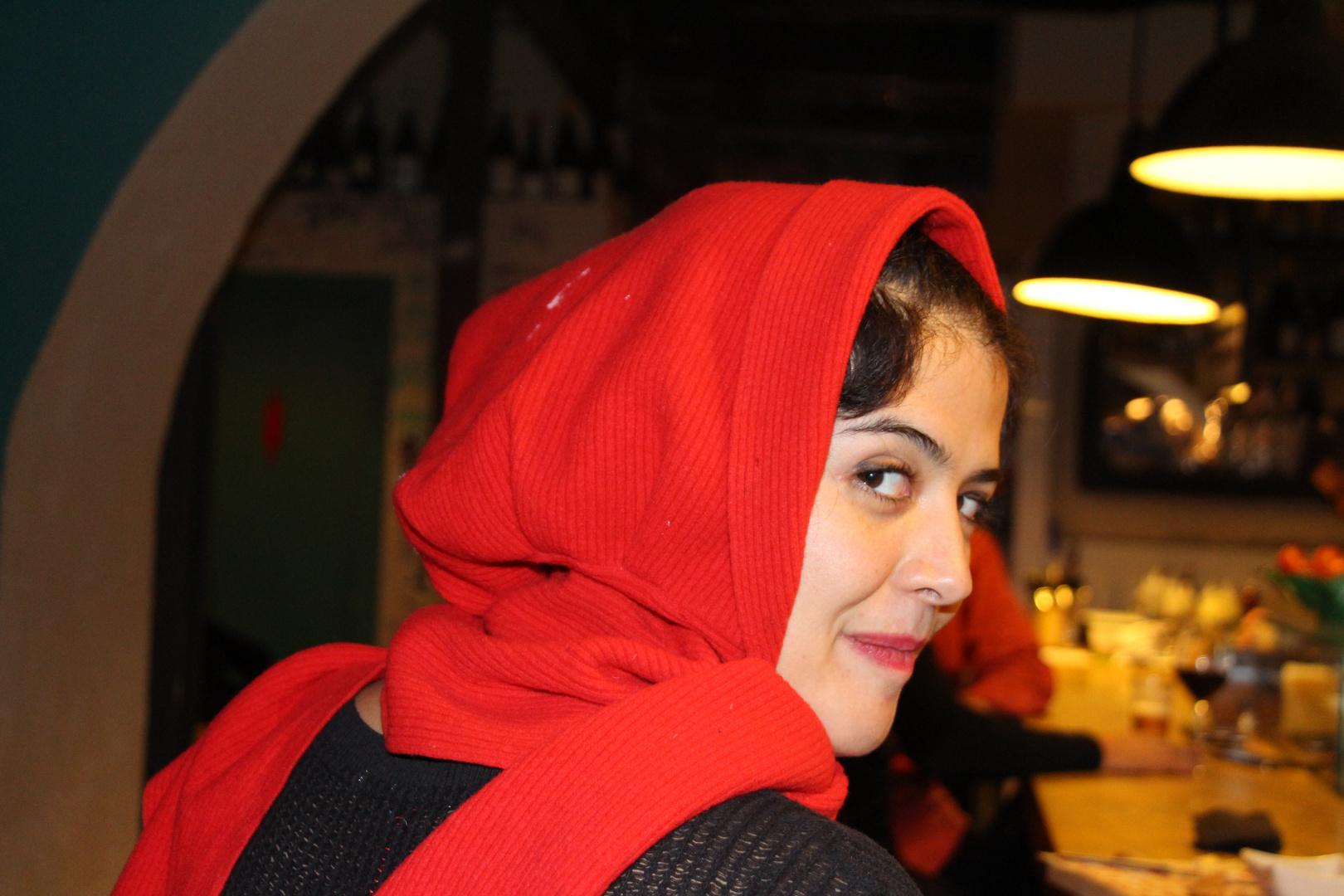 A Barcelone, j'ai rencontré le chaperon rouge . . .