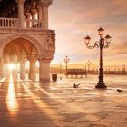A beautiful morning in Venice