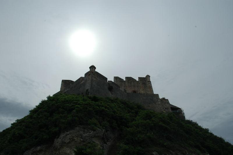 A beautiful old ruin in the sun