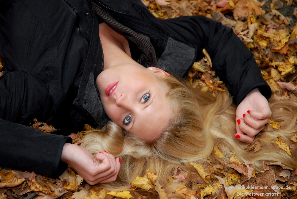 ~ a bed of leaves ~