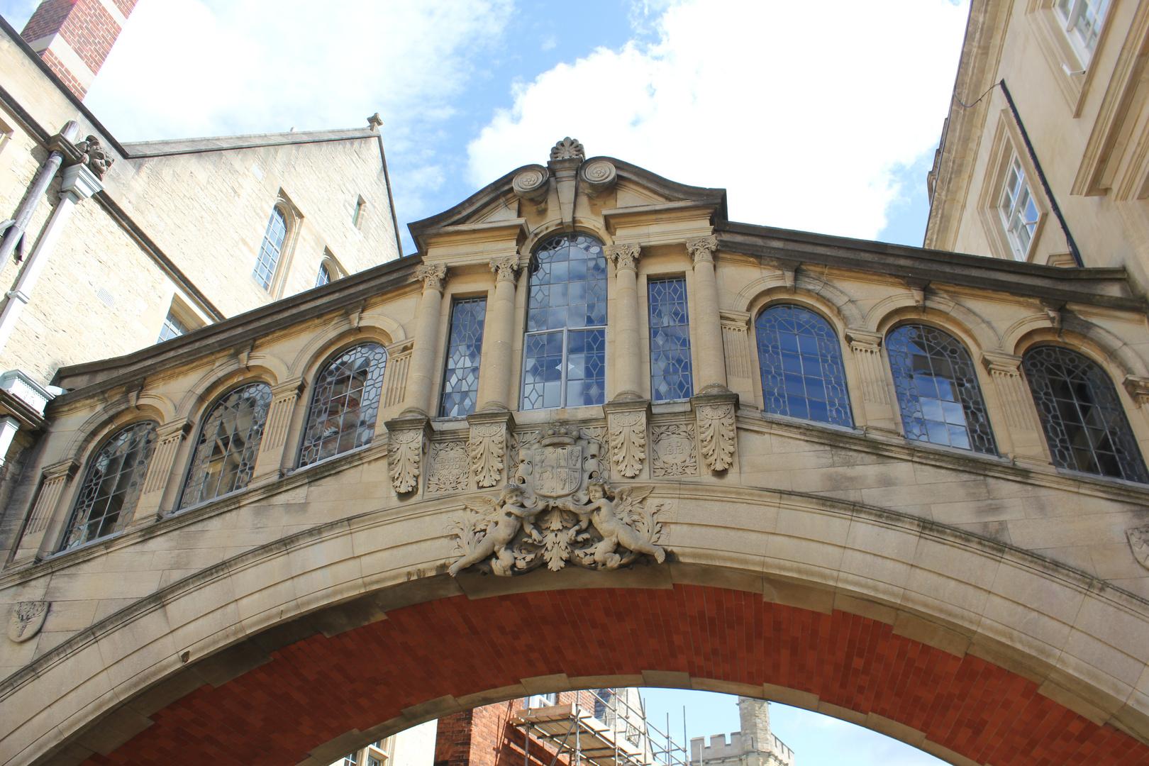 a bridge in Oxford