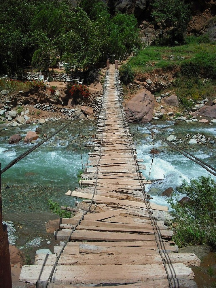 A bridge in Siti Fatma
