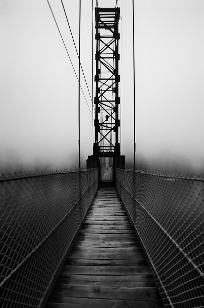 A bridge to the village
