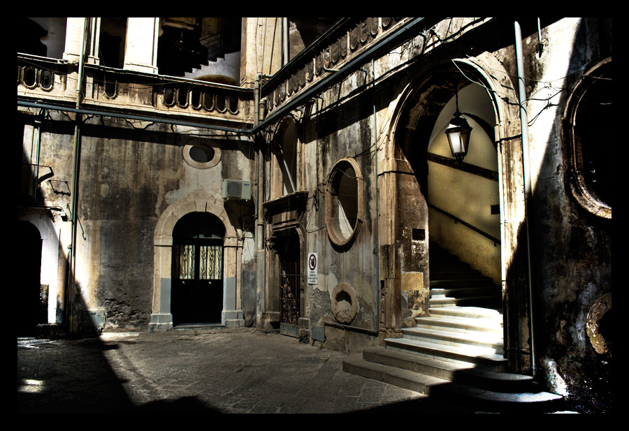 A Catania....un cortile