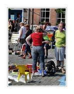 a chair baby at Rommelmarkt in IJzendijke