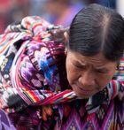 a Chichicastenango..una donna...raccontava...