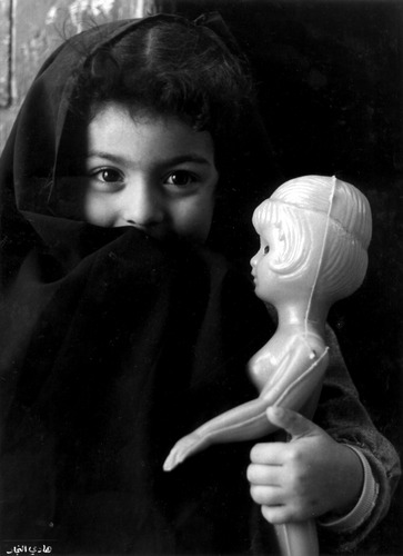 A child with puppet