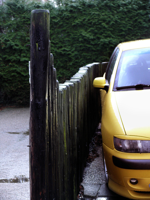 A convenient parking space