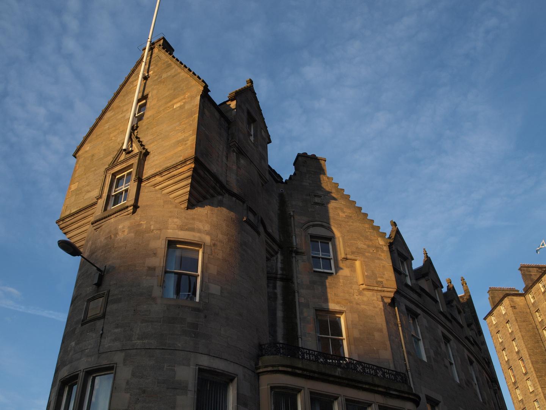 A corner in Edinburgh city