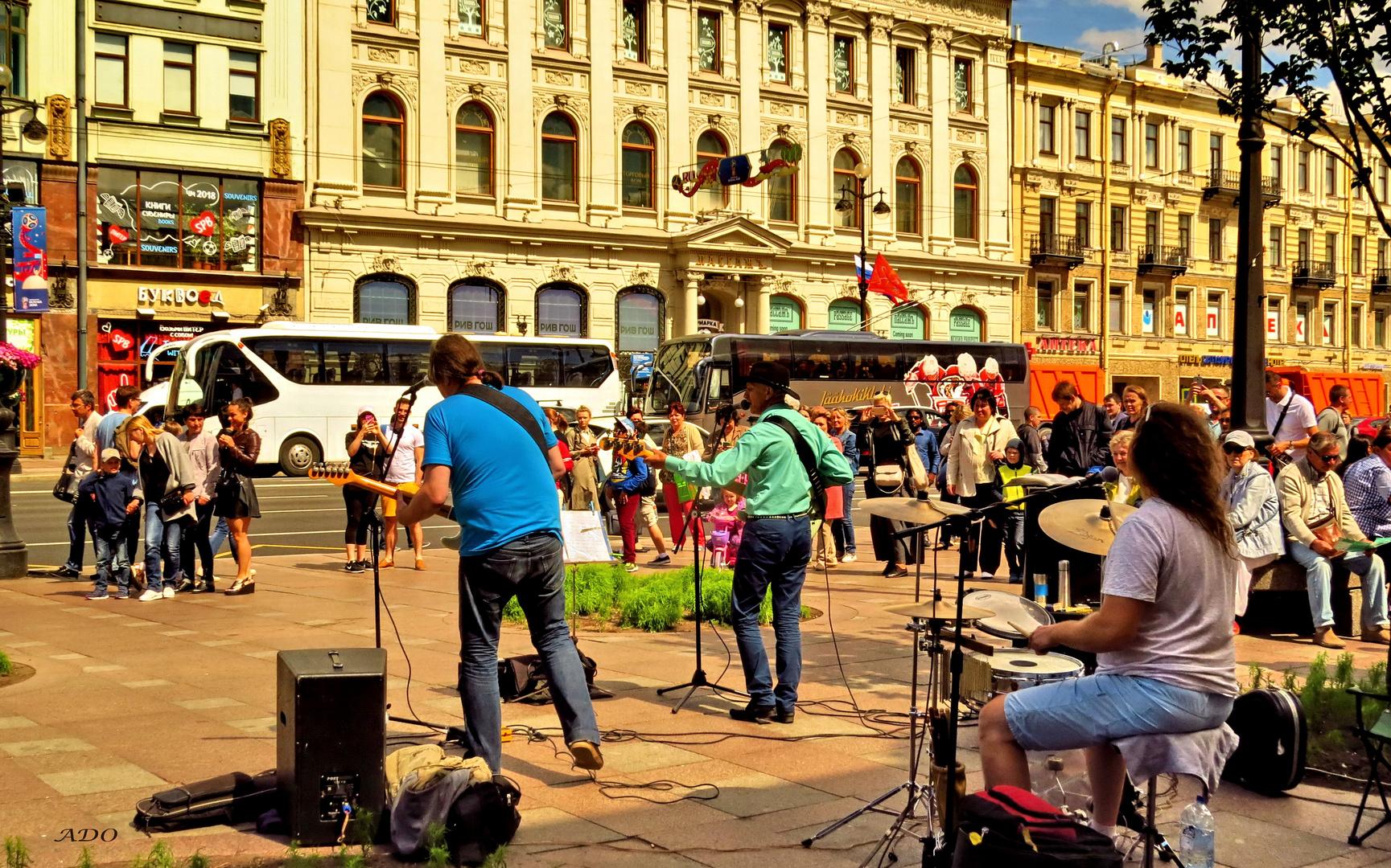 A Cowboy in St. Petersburg