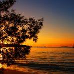 A déguster sans modération… - Coucher de soleil à la baie de Kuto, Île des Pins