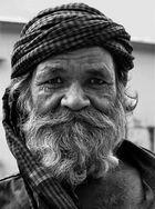 A European in Jaipur.