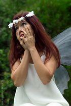 a fairy in my garden