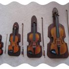 A FAMILY OF 4 VIOLINS