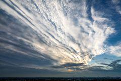A fantastic November sky