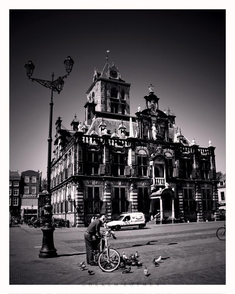a fine day in Delft.