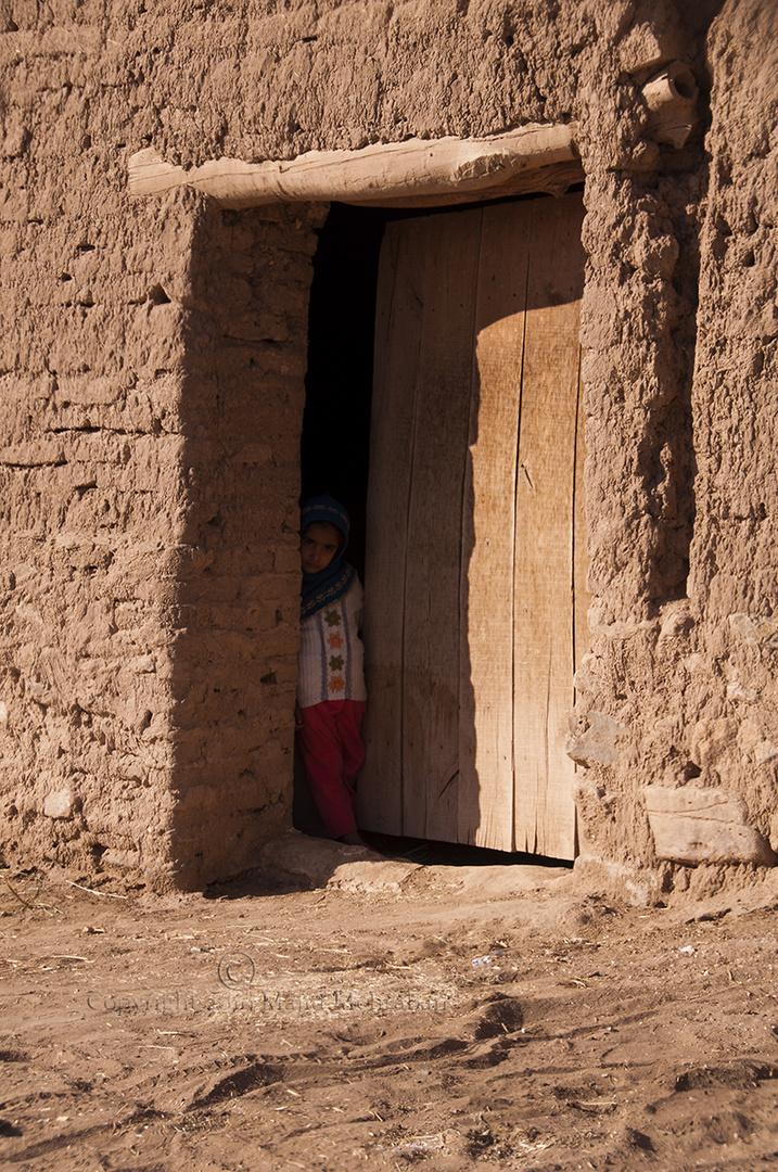 A girl from desert