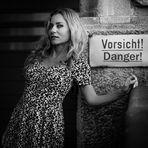 ...A girl like you should wear a warning