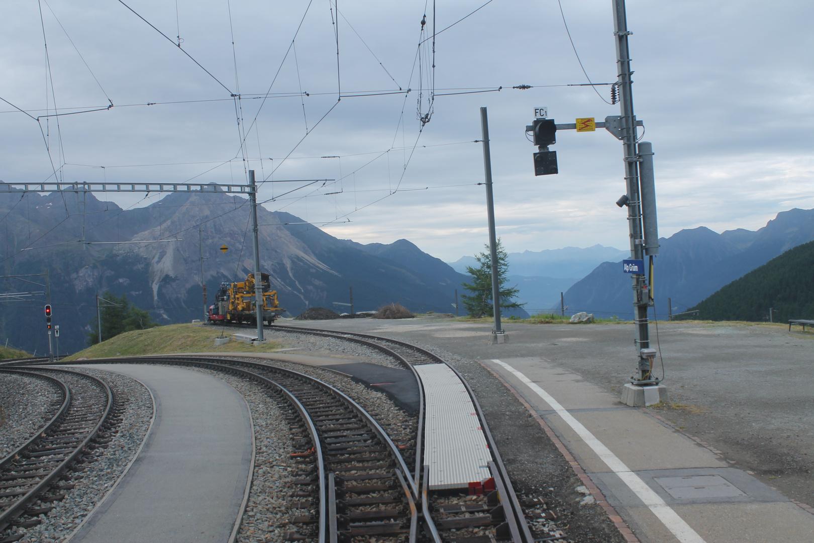 a glance at Bermina railway