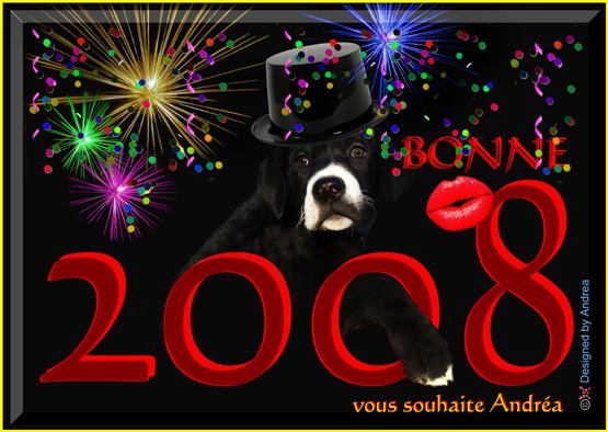 A GOOD AND HAPPY YEAR ALSO FOR THE DOGS!!!