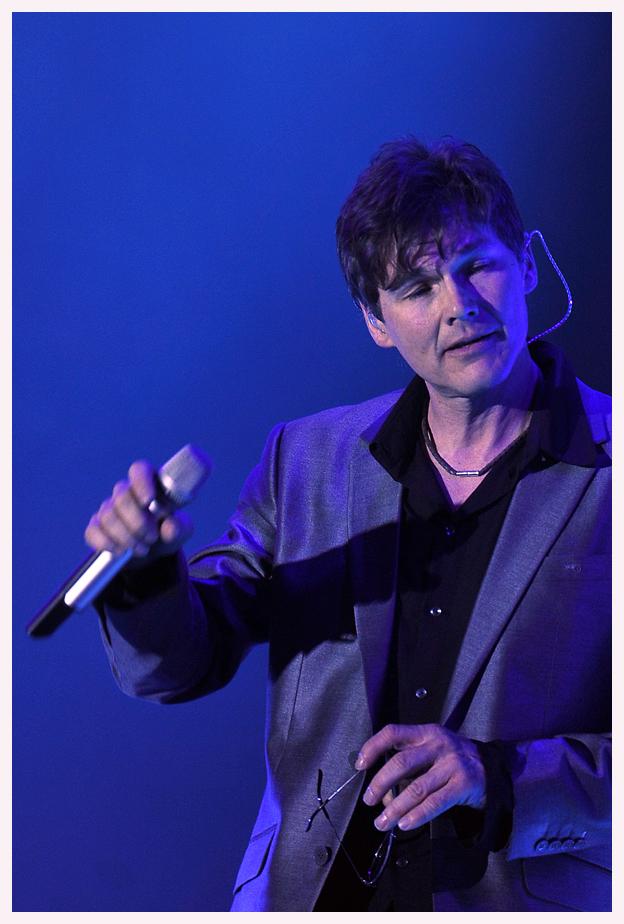 a-ha-Sänger Morten Harket im feinen Zwirn