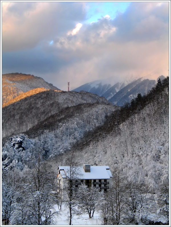 A house in the mountains. What could be better?!