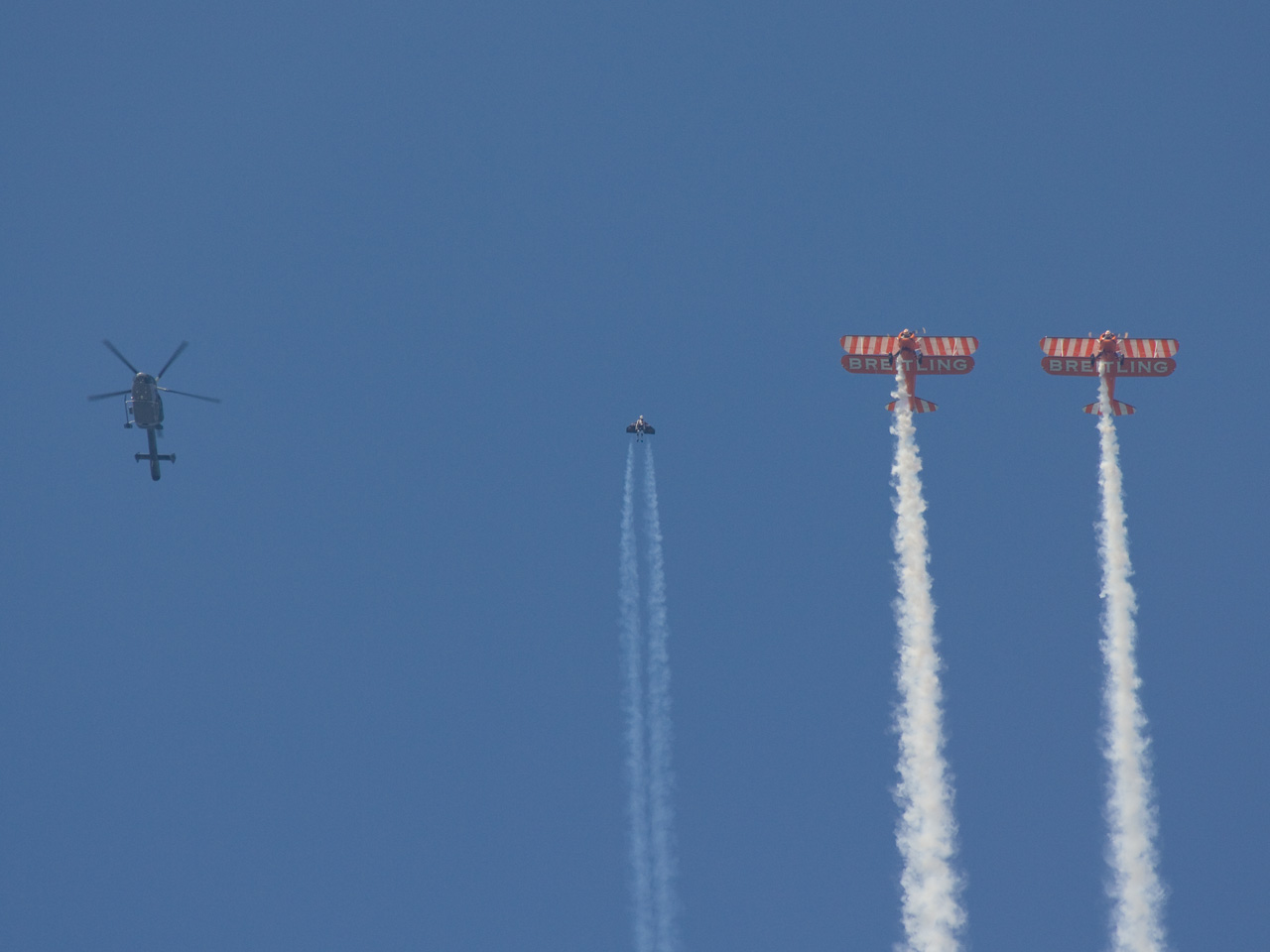 A jet? A bird? A man? .... A Jet-Bird-Man...
