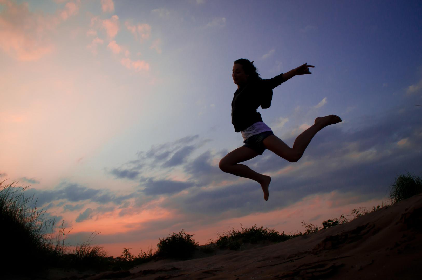 a jump