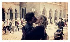 a kiss on a saturday