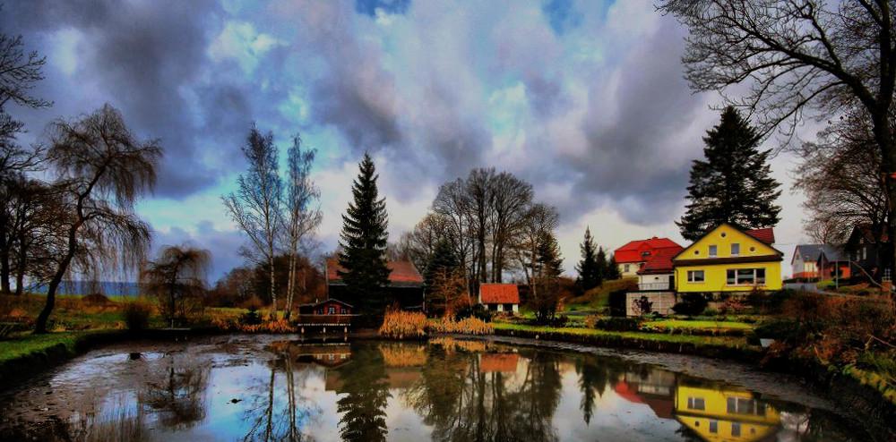 A Kleine Teich in Sonneberg