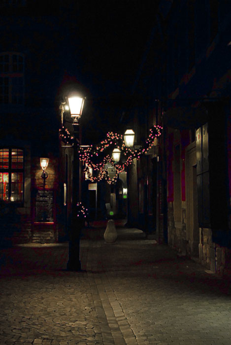 A la lanterne...