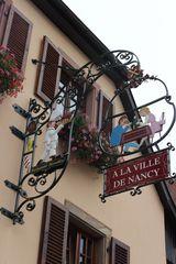 A la ville de Nancy en Alsace