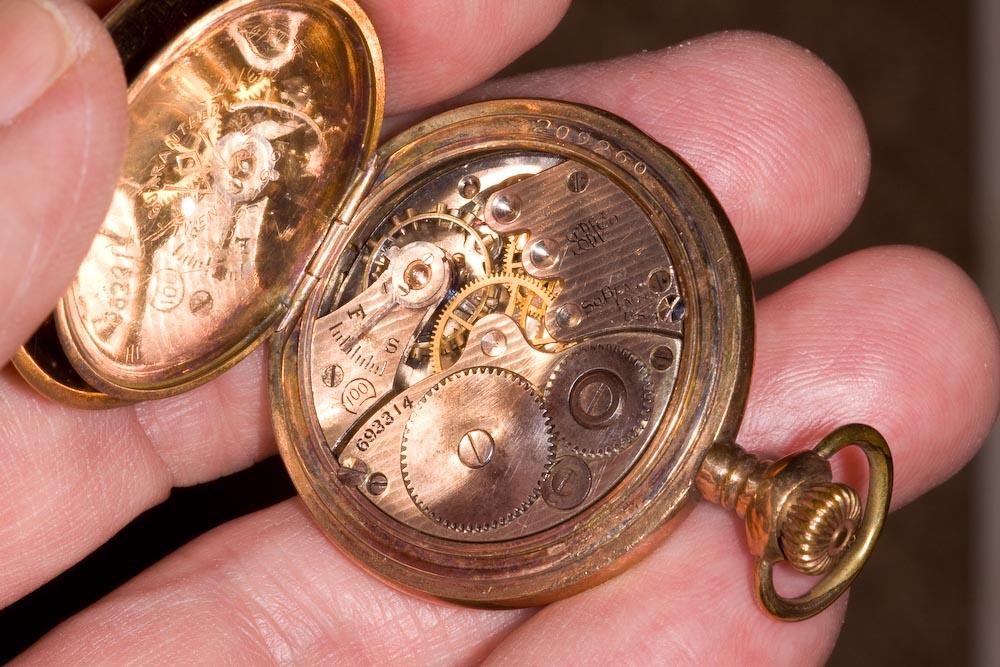 A Lady's antique pendant watch