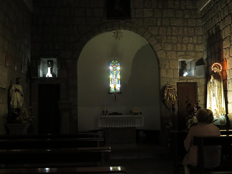 a little church of Bagnaia