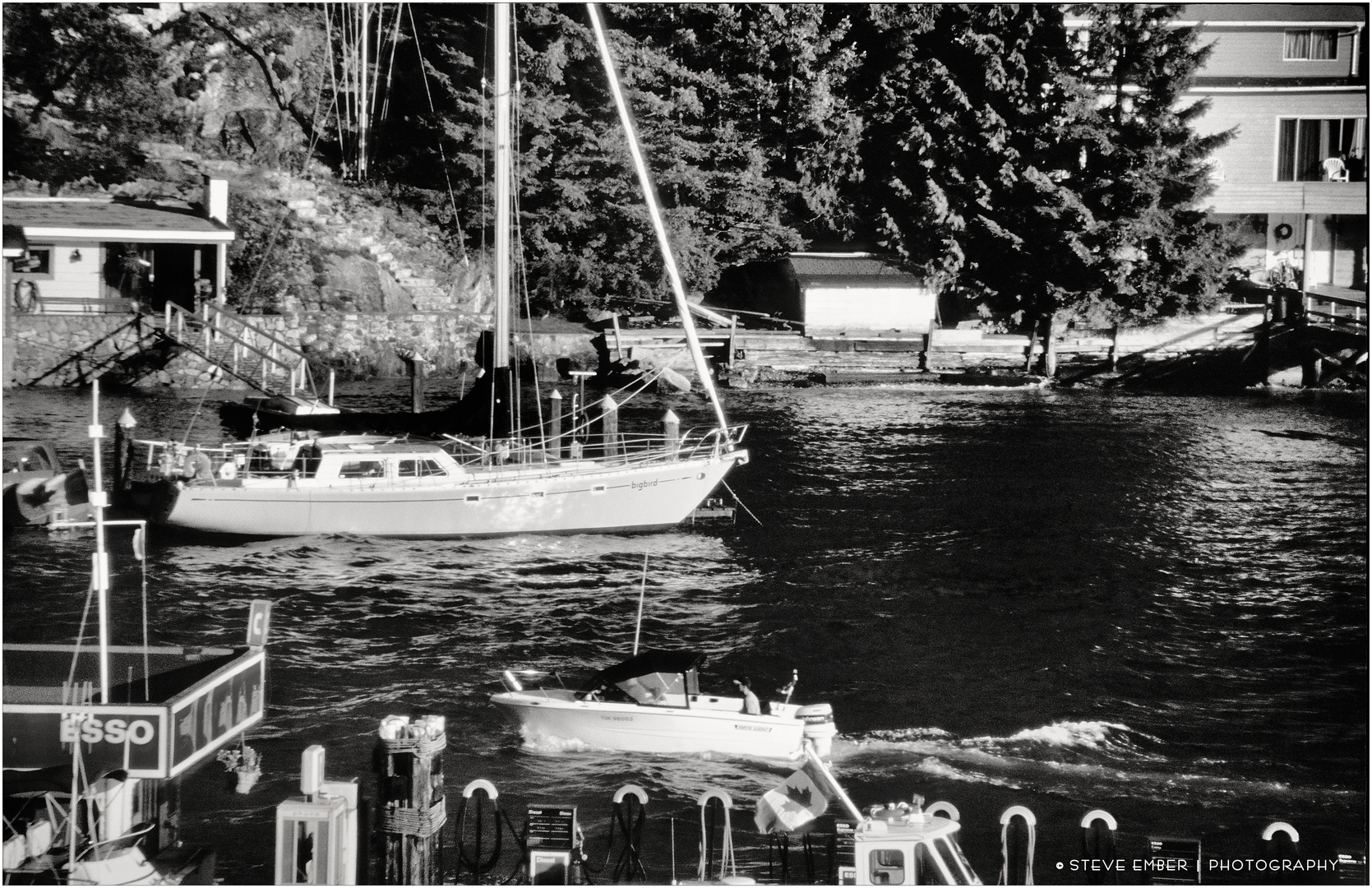 A Marina in West Vancouver