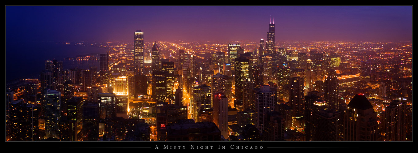 A Misty Night In Chicago