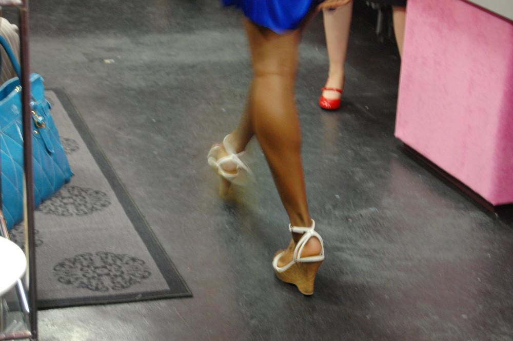 A Model's Walk