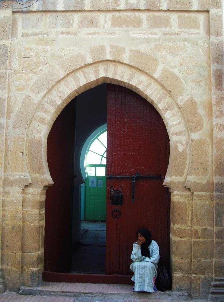 A mosque in Essaouira