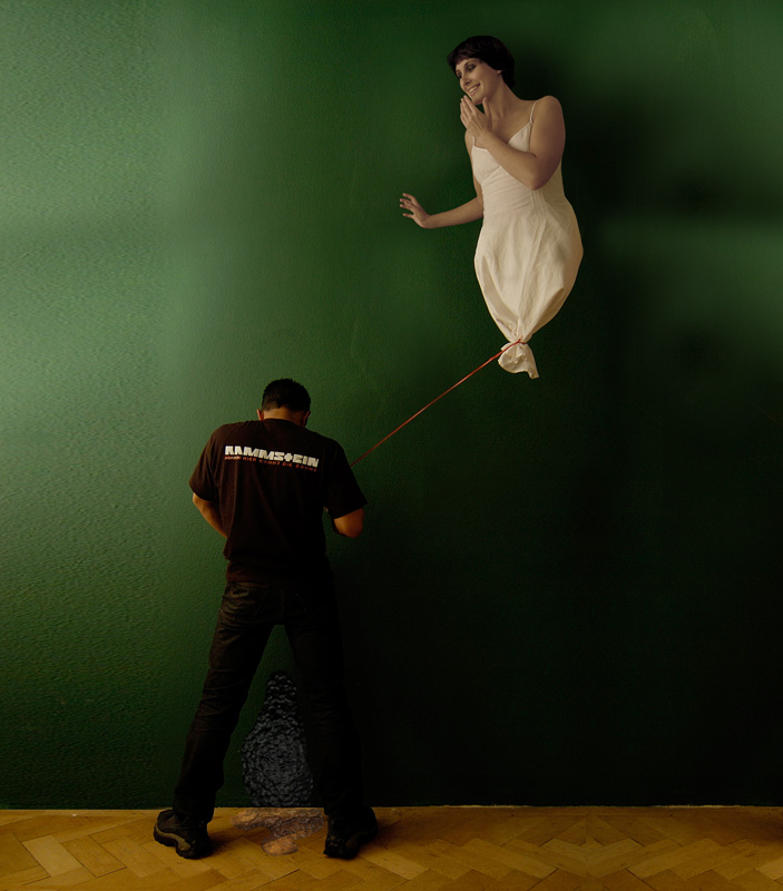 a naughty balloon by Alexander Raditya