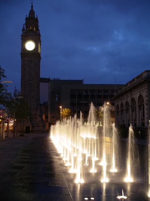 A night in Belfast