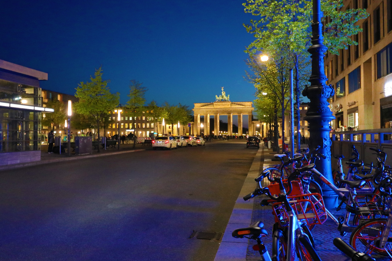 A night in Berlin