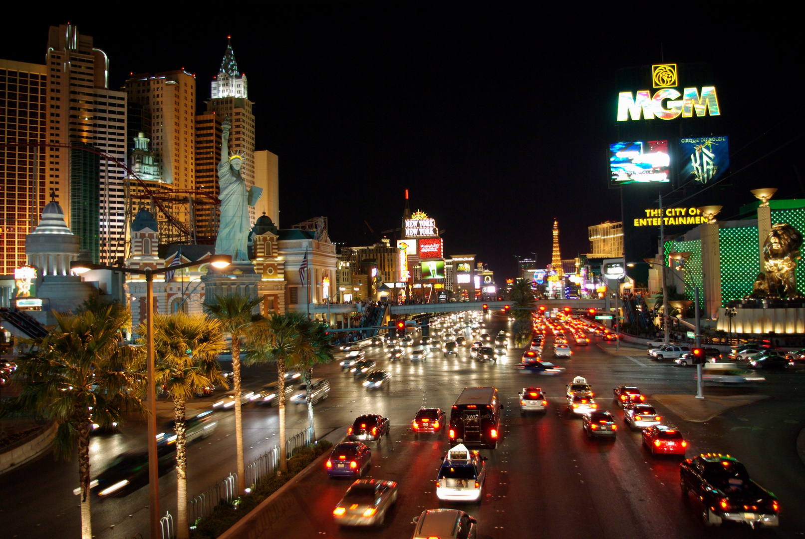 A Night on the Strip