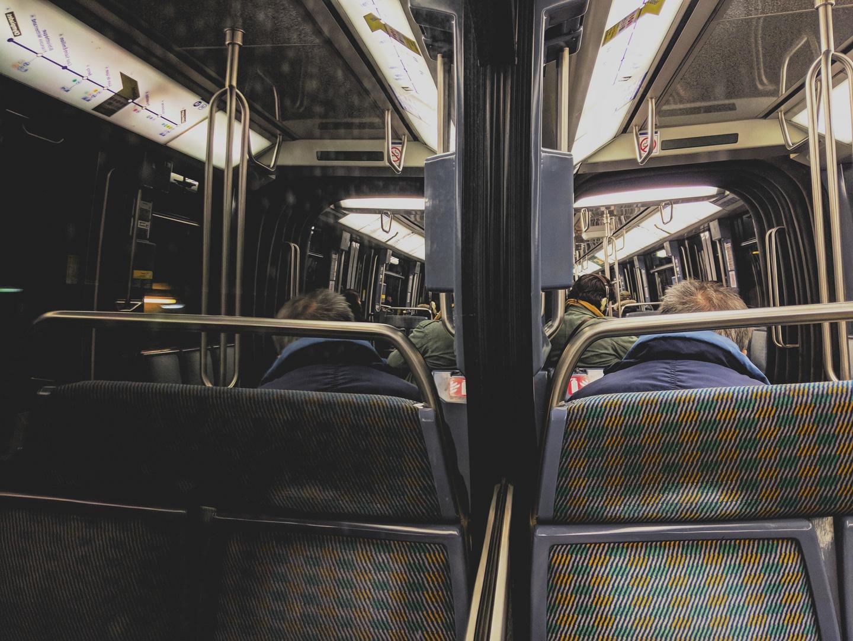 A Paris, en métro ...