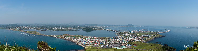 A part of Jeju island