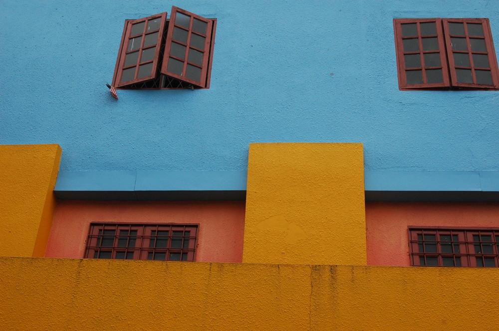 A perfect wall in Kuching, Sarawak
