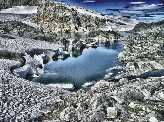 A pie de Glaciar