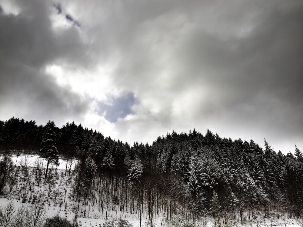 a piece of blue sky - Ein Stück blauer Himmel