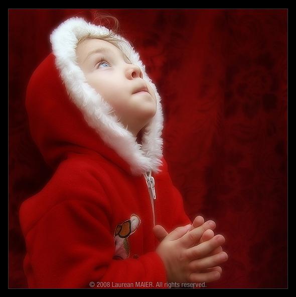 A Praying Angel